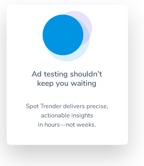 Ad testing shouldn't keep you waiting